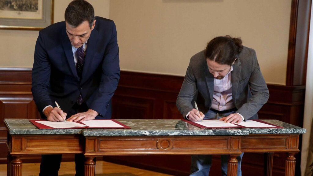 Iglesias lleva a Sánchez hacia la subida de impuestos para elevar la recaudación